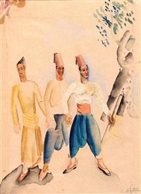 the 3 ottomans by nachum gutman