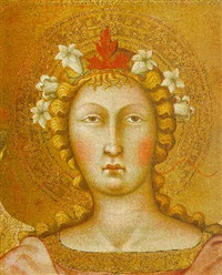 head of an archangel by bartolo di messer fredi