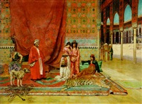 in the harem by m.h. nathan