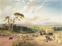 a well earned rest by george vicat cole