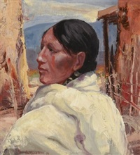 at the pueblo by carl von hassler