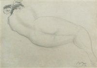 nude lying by corneliu baba