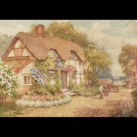 in the village of cropthrone near evesham worcestershire by william affleck