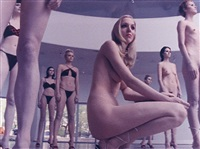 untitled (performance detail, solomon r. guggenheim museum, ny), 1998 by vanessa beecroft