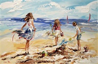 looking out to sea by lorna miller