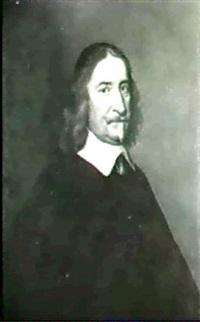 portrait d'un homme en habit noir by paulus lesire