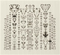 inkblot drawing (11/21/93) by bruce conner