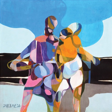 Lovers By Oscar Zalameda On Artnet