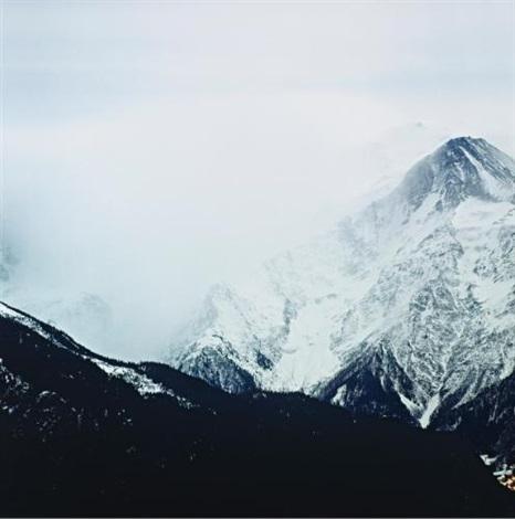 fullmoon @ glacier des bossons by darren almond