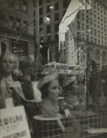fifth avenue reflections by lisette model