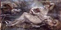 nymphe et angelot by alexis joseph mazerolle