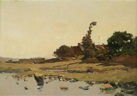 landscape by paul emile lecomte