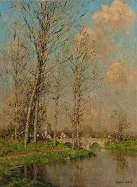 the meandering river by marcel adolphe bain