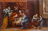 the birth of the virgin by family arellano