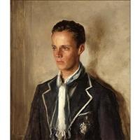 a portrait of william stuart spaulding jr. by john quincy adams