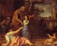 la vierge enfant partant pour le temple by rené antoine houasse