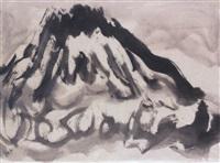 untitled - mount fuji by sofu teshigahara