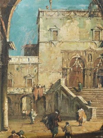 capriccio 4 works by francesco guardi