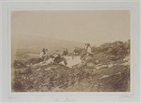 picnic party at goppa, 23rd september by john dillwyn llewelyn