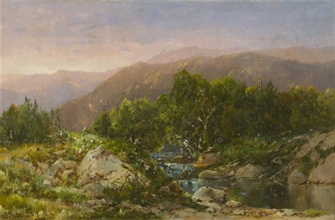 new hampshire white mountains by william louis sonntag