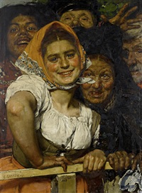 race day by karl gussow