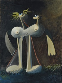 night nude by george condo