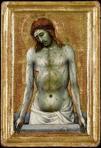 cristo in pietà by taddeo di bartolo