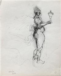 personnage mythologique (study) by dora maar