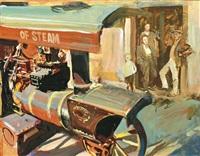 steam-engine by tibor csernus