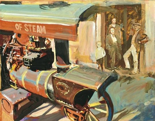 steam engine by tibor csernus