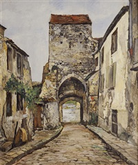 porte de moret by marcel françois leprin