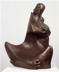 hagar and ishmael by grisha arad