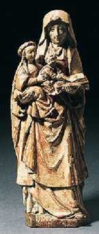 the virgin and st. anne by flemish school-malines (16)