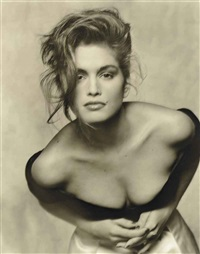 cindy crawford for british vogue, august by terence donovan