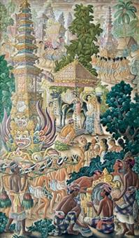 ngaben procession by anak agung gede sobrat