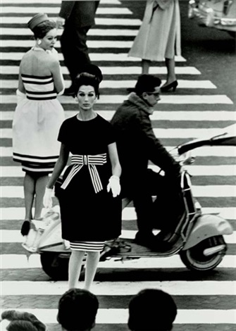 piazza di spagna rome vogue by william klein