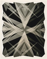 kaleidoscopic photogram by fred r. archer