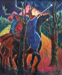 horse rider by jimo akolo