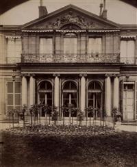 hotel d'argenson, rue de grenelle 101, 1907 by eugène atget and pierre gassmann
