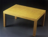 occasional table by richard neutra