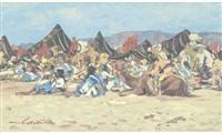campement de nomades by marie laurentie