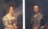 portrait de louis léonce pharamond pandin, comte de narcillac by auguste françois laby