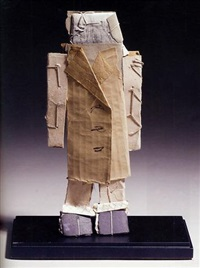 untitled (standing figure of a man) by james castle