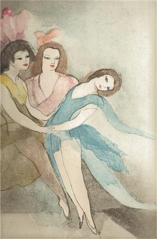 dialogue sur la danse bk by p louÿs w10 works by marie laurencin