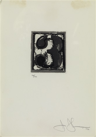 artwork 3 by jasper johns