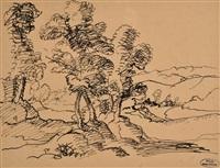 paysage by andré derain