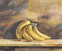still life of bananas by ed ahlstrom