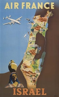 air france/israel by posters: aviation