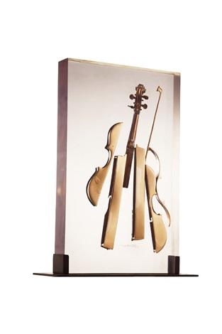 壓克力小提琴 violin europe by arman