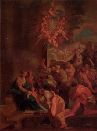 the adoration of the magi by jan kristof liska